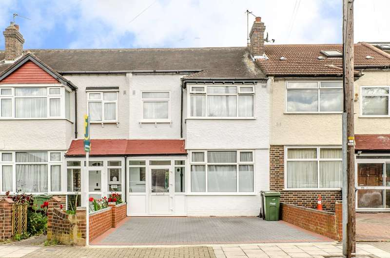 3 Bedrooms Terraced House for sale in Glenister Park Road, Streatham Vale, SW16