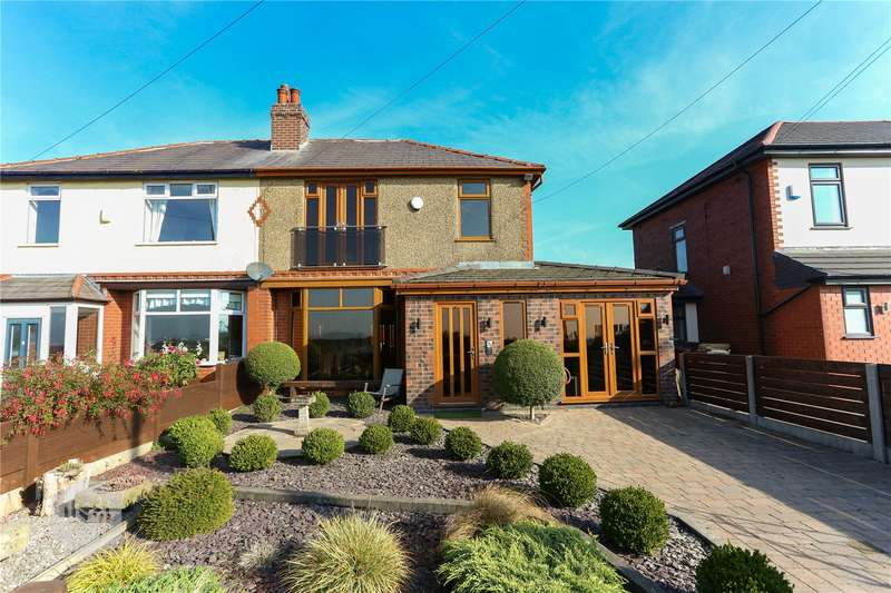 4 Bedrooms Semi Detached House for sale in Plodder Lane, Farnworth, Bolton, Greater Manchester, BL4