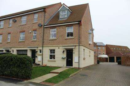 3 Bedrooms End Of Terrace House for sale in Scotsman Drive, Doncaster