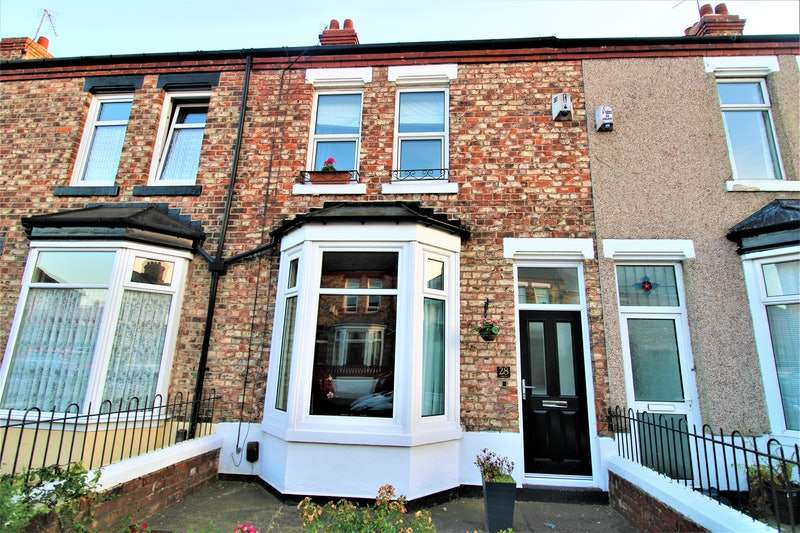2 Bedrooms Terraced House for sale in Grange Road, Stockton-on-Tees, County Durham, TS20