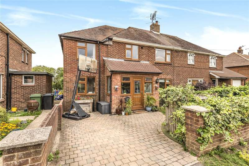 4 Bedrooms Semi Detached House for sale in Beech Grove, Owslebury, Winchester, Hampshire, SO21