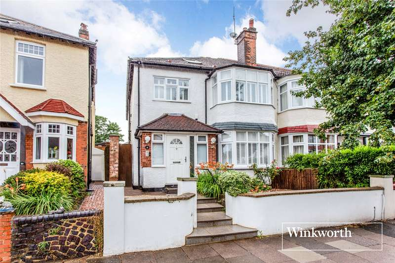 5 Bedrooms Semi Detached House for sale in Normandy Avenue, High Barnet, EN5