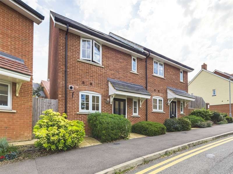 2 Bedrooms Semi Detached House for sale in Dame Kelly Holmes Way, Tonbridge