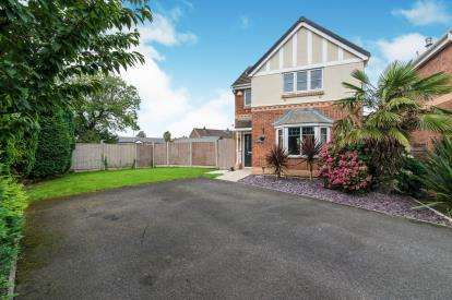 3 Bedrooms Detached House for sale in Acreswood Avenue, Hindley Green, Wigan, Greater Manchester, WN2