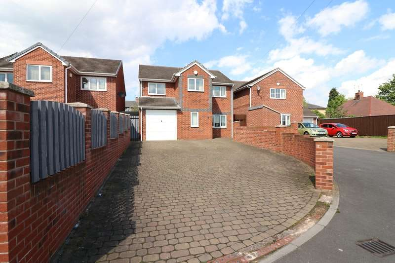4 Bedrooms Detached House for sale in Lincroft, Rotherham, South Yorkshire, S63