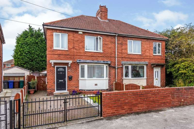 3 Bedrooms Semi Detached House for sale in Low Grange Road, Rotherham, South Yorkshire, S63