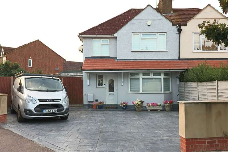 3 Bedrooms Semi Detached House for sale in 13 Central Avenue, WALTHAM CROSS, Hertfordshire