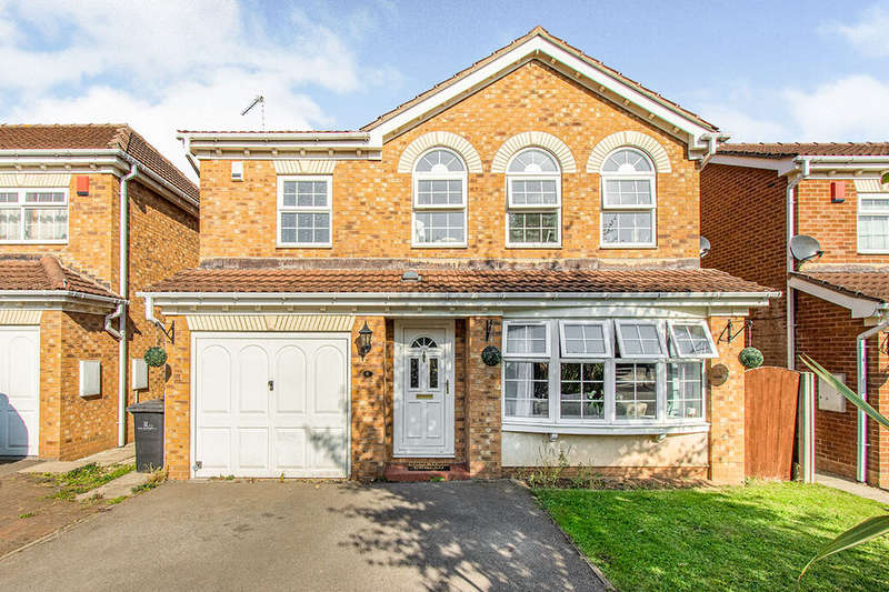 4 Bedrooms Detached House for sale in Atebanks Court, Balby, DN4