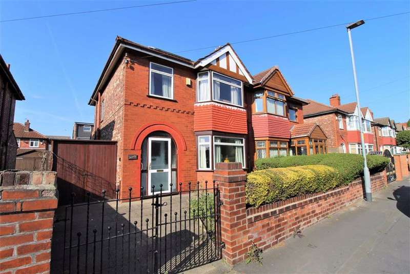 3 Bedrooms Semi Detached House for sale in Farrer Road, Manchester