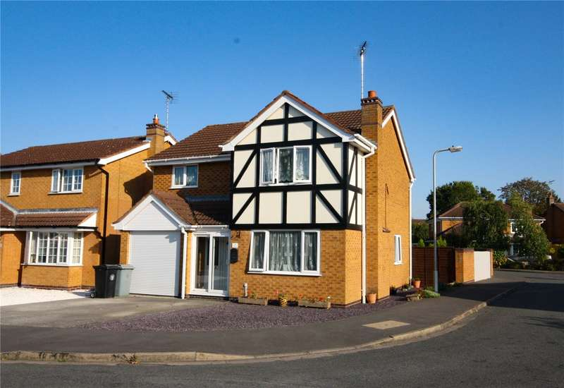 4 Bedrooms Detached House for sale in Hamilton Close, Bourne, PE10