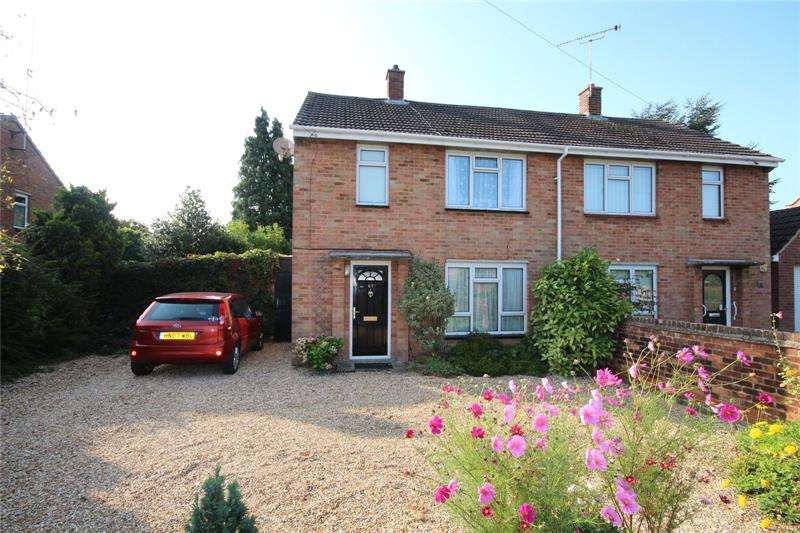 2 Bedrooms Semi Detached House for sale in Poplar Way, Ringwood, Hampshire, BH24