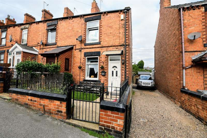 2 Bedrooms End Of Terrace House for sale in Myrtle Road, Wombwell, Barnsley, S73 8LN