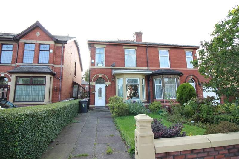3 Bedrooms Semi Detached House for sale in Manchester Road, Bury, BL9