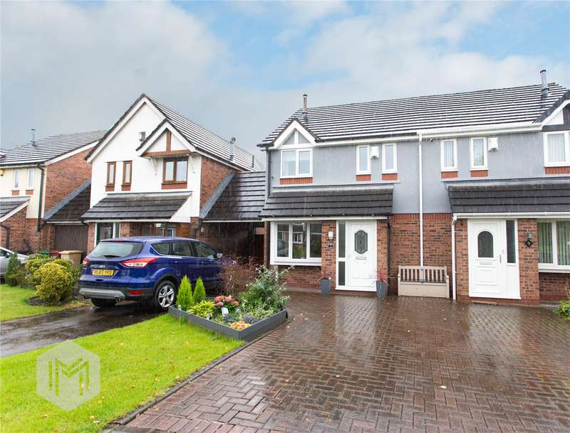 3 Bedrooms Semi Detached House for sale in Glencar, Westhoughton, Bolton, BL5