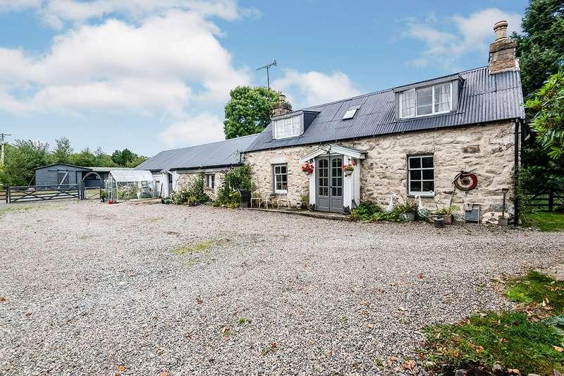 3 Bedrooms Detached House for sale in Migdale, Bonar Bridge, Ardgay, Highland, IV24