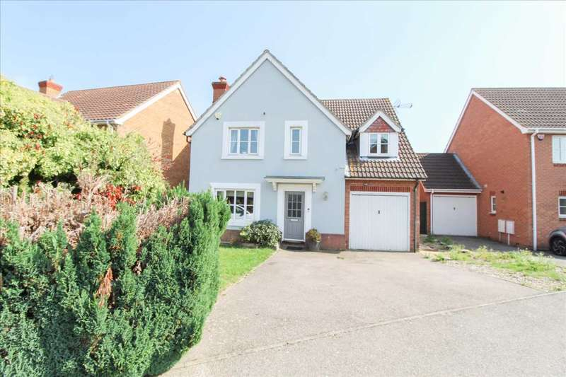 4 Bedrooms Detached House for sale in Clement Close, Sittingbourne