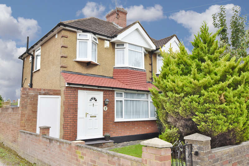 3 Bedrooms Semi Detached House for sale in Greenwood Drive, Watford