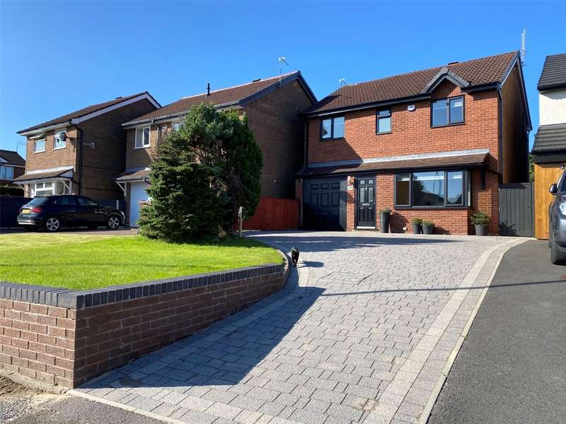 4 Bedrooms Detached House for sale in Whittingham Drive, Ramsbottom, Bury, Greater Manchester, BL0