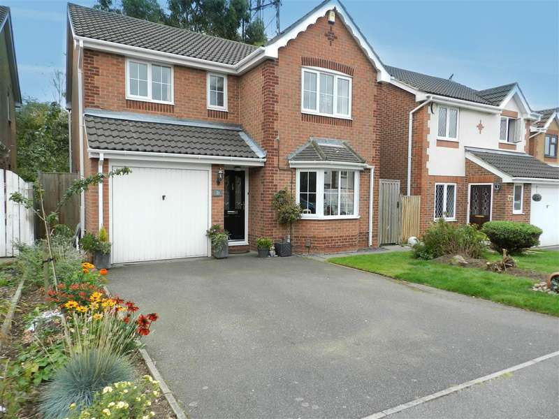 4 Bedrooms Detached House for sale in Elmhurst Drive, Huthwaite, Sutton-in-Ashfield