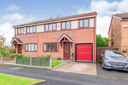 4 Bedrooms Semi Detached House for sale in St. Annes Road, Denton, Manchester, Greater Manchester