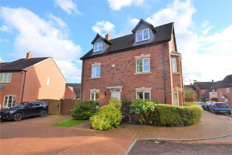 5 Bedrooms Detached House for sale in 34 Round House Park, Horsehay, Telford, TF4