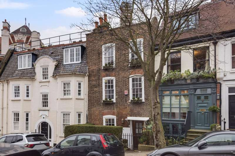 4 Bedrooms Terraced House for sale in New End, Hampstead, London, NW3