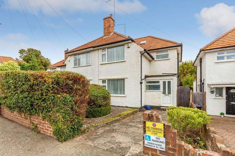 3 Bedrooms Semi Detached House for sale in White Hart Road, Orpington, Kent, BR6 0HD