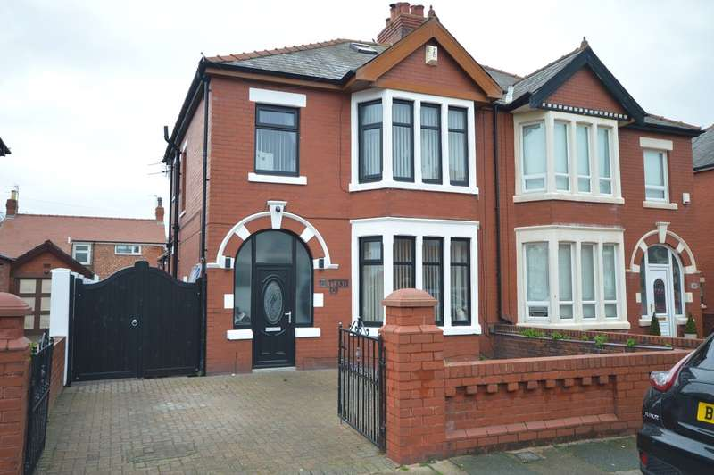 3 Bedrooms Semi Detached House for sale in St. Martins Road, South Shore FY4