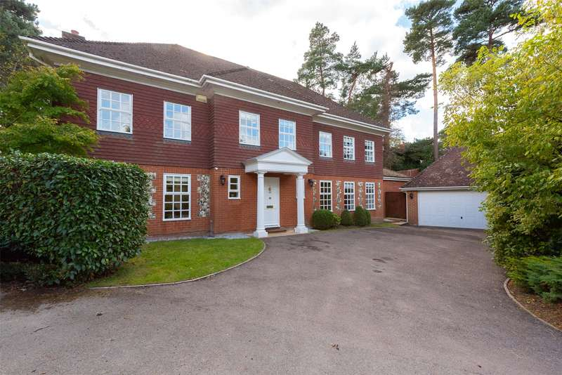 5 Bedrooms Detached House for sale in Rawdon Rise, Camberley, GU15