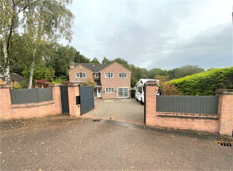 4 Bedrooms Detached House for sale in Dalewood Close, South Normanton, Alfreton, Derbyshire, DE55