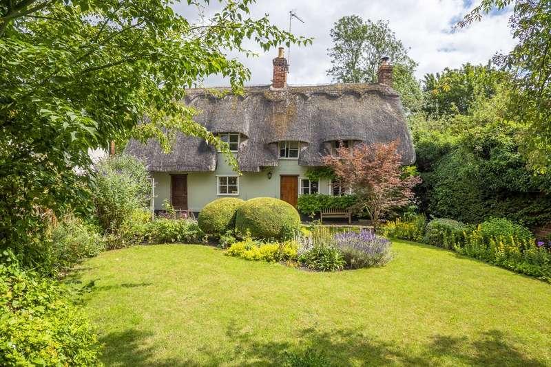 3 Bedrooms Detached House for sale in Hartest, Bury St Edmunds