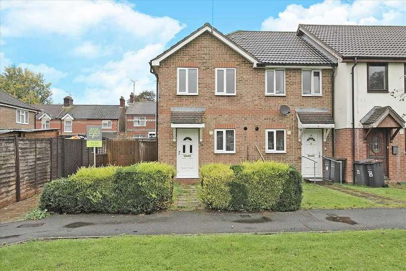 2 Bedrooms End Of Terrace House for sale in Walled Meadow, Andover