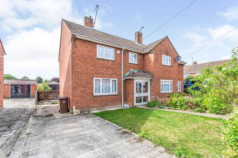 3 Bedrooms Semi Detached House for sale in Miskin Road, Hoo, Rochester, Kent, ME3