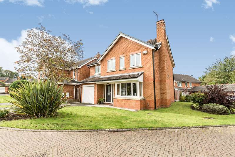 4 Bedrooms Detached House for sale in Drakes Hollow, Walton-le-Dale, Preston, PR5