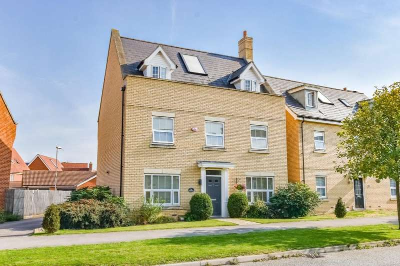 5 Bedrooms Detached House for sale in Burgattes Road, Little Canfield, Dunmow