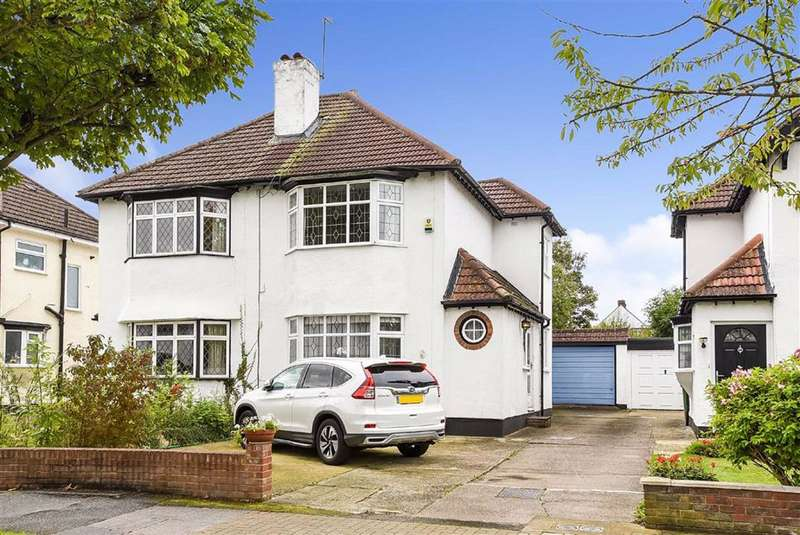 3 Bedrooms Semi Detached House for sale in Crescent Drive, Petts Wood, Kent