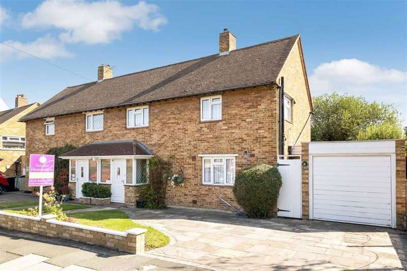 3 Bedrooms Semi Detached House for sale in Mounthurst Road, Hayes