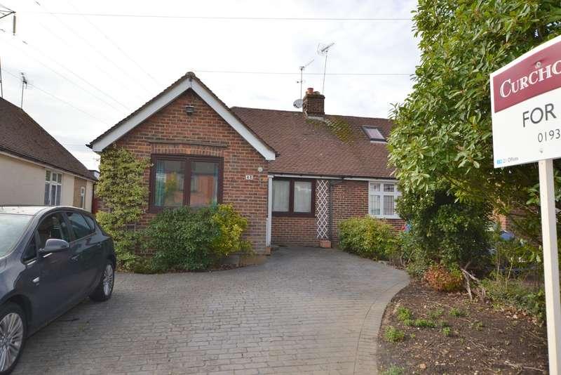 4 Bedrooms Semi Detached Bungalow for sale in Rectory Lane, Byfleet, West Byfleet, KT14