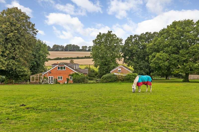 6 Bedrooms Detached House for sale in Hensting Lane, Owslebury, Winchester, SO21