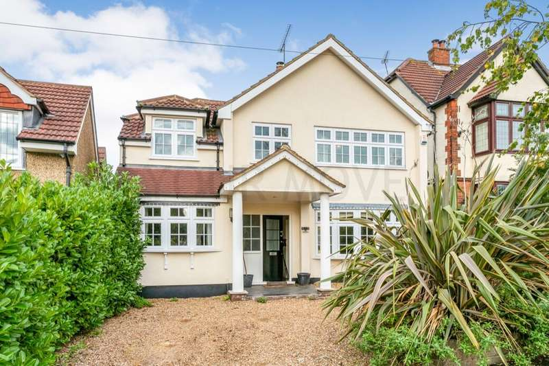 4 Bedrooms Detached House for sale in Wykeham Avenue, Hornchurch, RM11