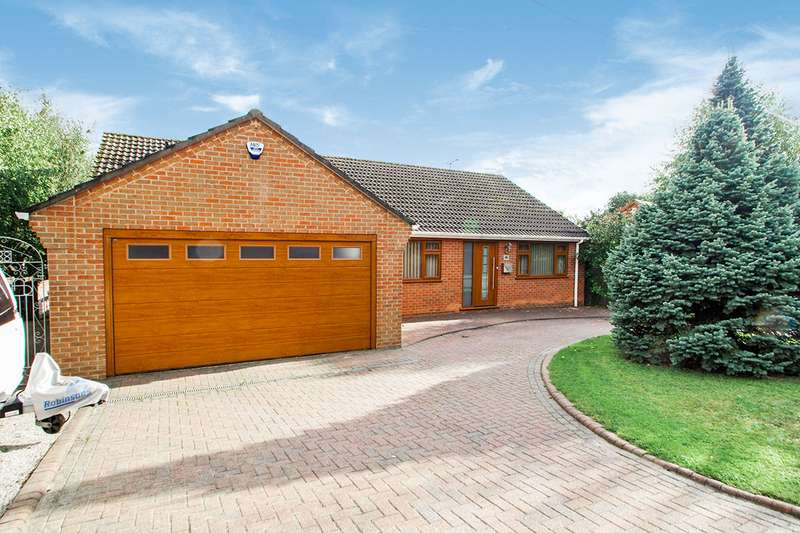 3 Bedrooms Detached Bungalow for sale in Lea Vale, Alfreton, DE55