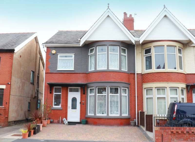 4 Bedrooms Semi Detached House for sale in Argyll Road, Blackpool, Lancashire, FY2