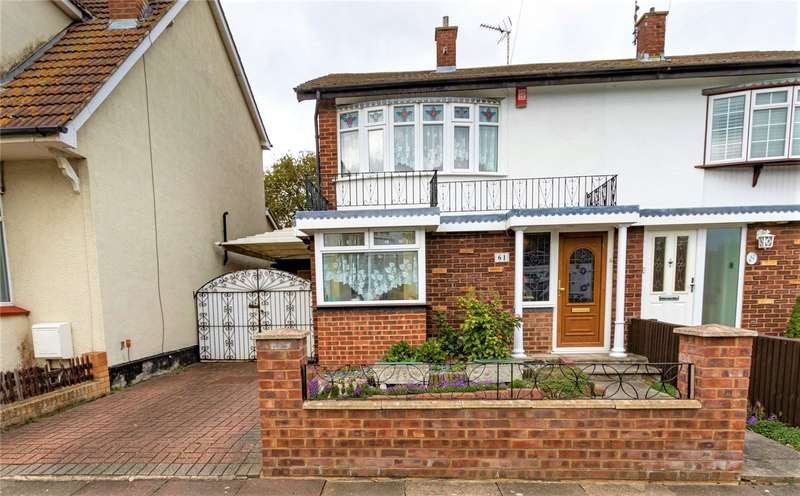 3 Bedrooms Semi Detached House for sale in Glenbervie Drive, Leigh-on-Sea, Essex, SS9