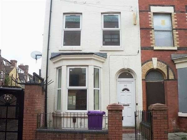 5 Bedrooms Terraced House for rent in Domingo Vale, Anfield, Liverpool