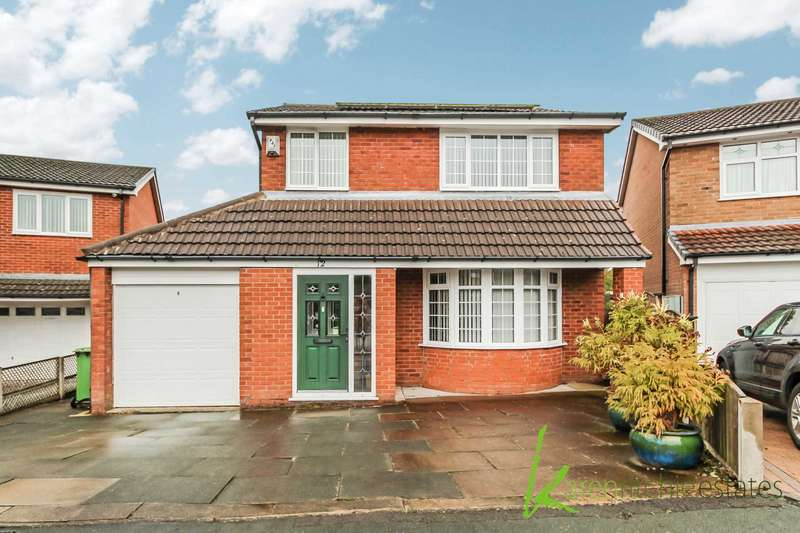 3 Bedrooms Detached House for sale in Barnston Close, Bolton
