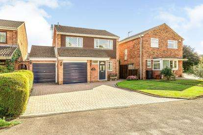 4 Bedrooms Detached House for sale in Wise Grove, Woodloes Park, Warwick, Warwickshire