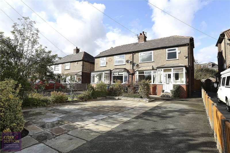 3 Bedrooms Semi Detached House for sale in Oldham Road, Lydgate, Saddleworth, OL4