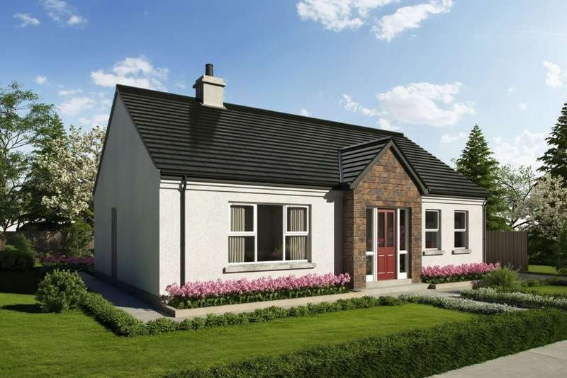 2 Bedrooms Bungalow for sale in Woodbrook Village, Omagh, BT78