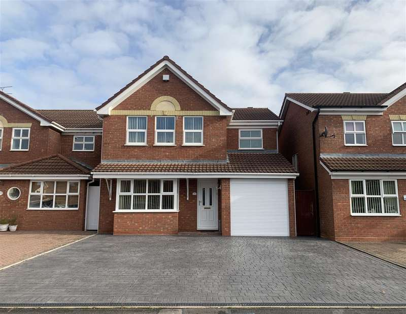 4 Bedrooms Detached House for sale in Boardman Crescent, Castlefields, Stafford