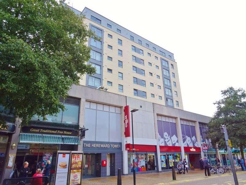 2 Bedrooms Apartment Flat for rent in The Hereward Tower, Broadway, Peterborough, PE1